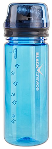 Black Crevice Tritan Flasche, blau, One size von Black Crevice