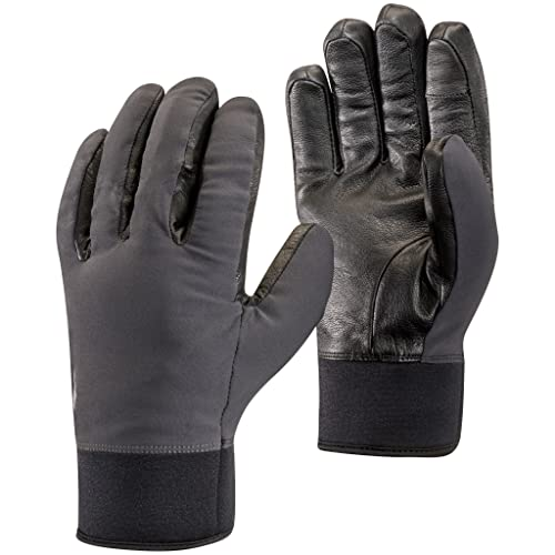 Black Diamond Heavyweight Softshell Handschuhe, Smoke, Extra Small von Black Diamond
