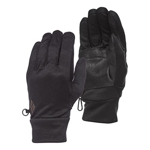 Black Diamond Midweight WOOLTECH Gloves Handschuhe, Anthracite, Large von Black Diamond