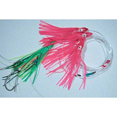 Blue Water Candy 93004 Squid Daisy Chain, Fluoreszierende rosa und grün Finish von Blue Water Candy