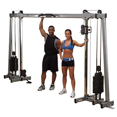 BODY-SOLID GDCC-250 Functional Training Center Cable Cross Over Maschine Studio von Body-Solid