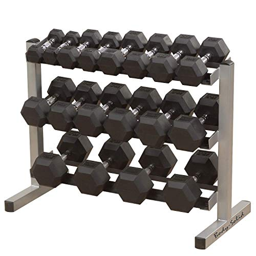 BODY-SOLID GDR-363 All in One Kurzhantelständer Kurzhantelablage Dumbbell Rack von Body-Solid