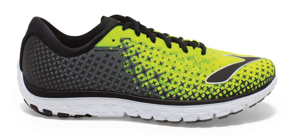 Brooks Herren Laufschuh Natural Running Pure Flow 5 Gelb - 110216 1D 781 von Brooks