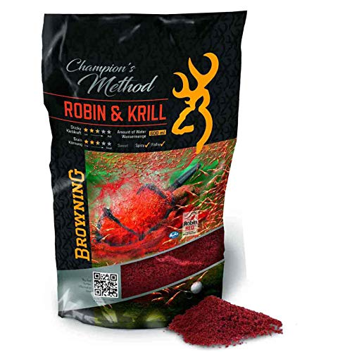 Browning Champion's Method Robin & Krill rot 1kg von Browning