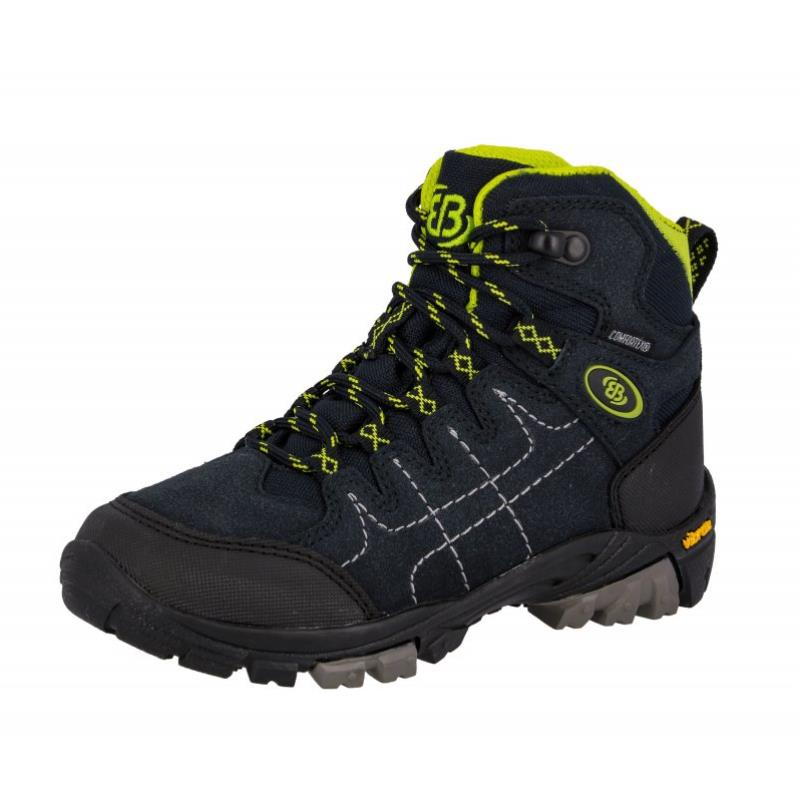 Brütting Mount Shasta Kids High Kinder Wanderschuhe dunkelblau Gr. 28 von Brütting