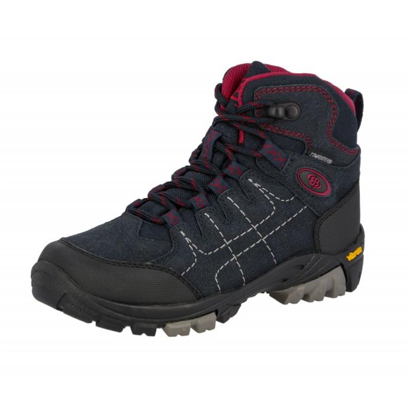 Brütting Mount Shasta Kids High Kinder Wanderschuhe dunkelblau Gr. 31 von Brütting