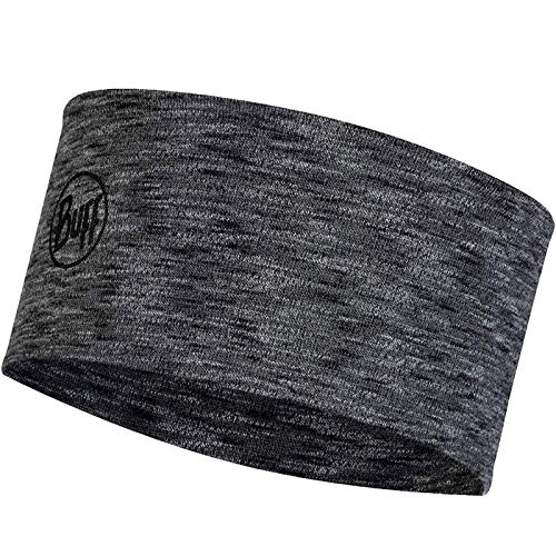 Buff Herren Midweight Stirnband, Graphite, One Size von Buff