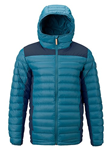 Burton Herren Evergreen Synthetic Hooded Insulator Funktionsjacke, Mountaineer/Mood Indigo, L von Burton
