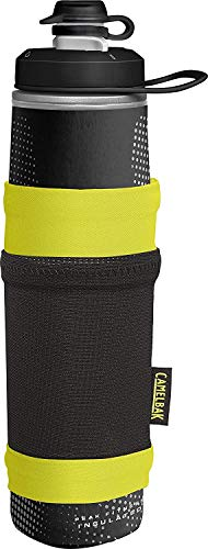 CAMELBAK Unisex – Erwachsene Peak Fitness Chill Essentials Pocket Black/Lime, Schwarz, One Size von CAMELBAK