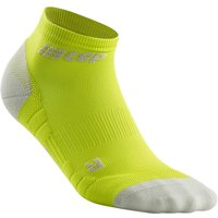 CEP Low Cut Socken 3.0 lime/light grey V von CEP