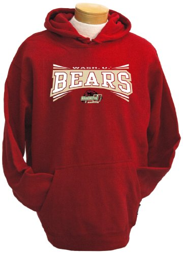 CI Sport NCAA Herren Kapuzen-Sweatshirt mit Kapuze in Washington, St. Louis Bears, Herren, rot, Medium von CI Sport