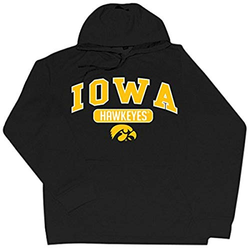 CI Sport NCAA Iowa Hawkeyes Braylon Performance Hood, Black, Small von CI Sport