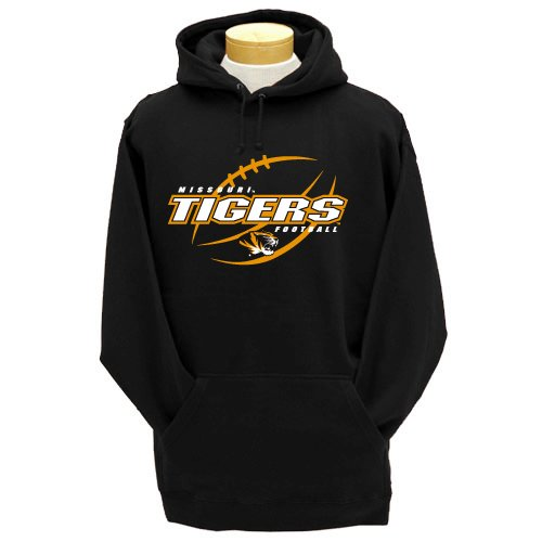CI Sport NCAA Missouri Tigers Heavyweight Hooded Sweatshirt, Herren, Missouri Tigers, Small von CI Sport
