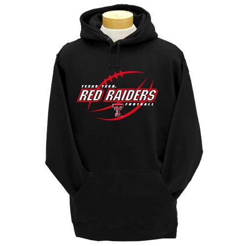 CI Sport NCAA Texas Tech Rot Raiders Sweatshirt mit Kapuze aus Schwerer, Herren, Texas Tech Red Raiders von CI Sport