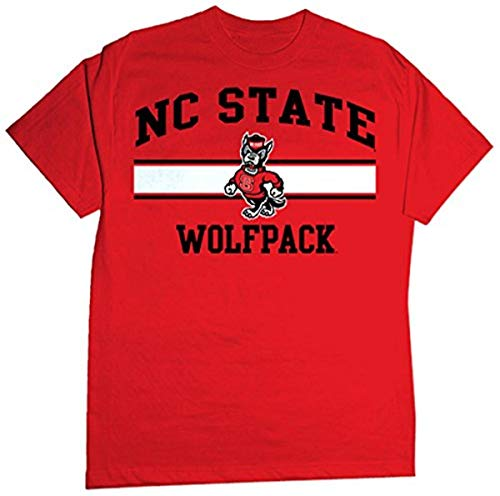 NCAA North Carolina State Wolf Pack Stormster Short Sleeve Tee, X-Large, Red von CI Sport