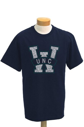 NCAA North Carolina at Wilmington Seahawks Biggies kurzärmligen T-Shirt, Herren, Navy von CI Sport