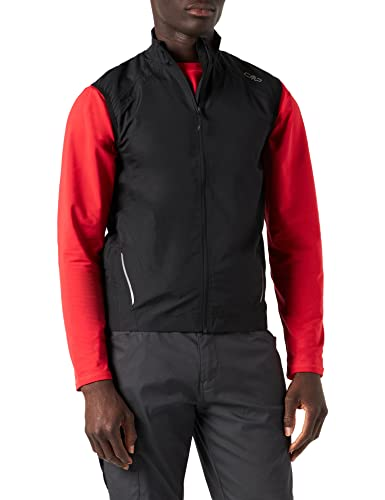 CMP Herren Lightweight and Windproof Vest Weste, Black, 54 von CMP