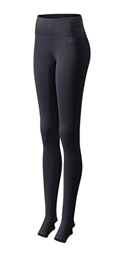CURARE Damen Fersenschlitz Leggings, Midnight-Blue, S von CURARE