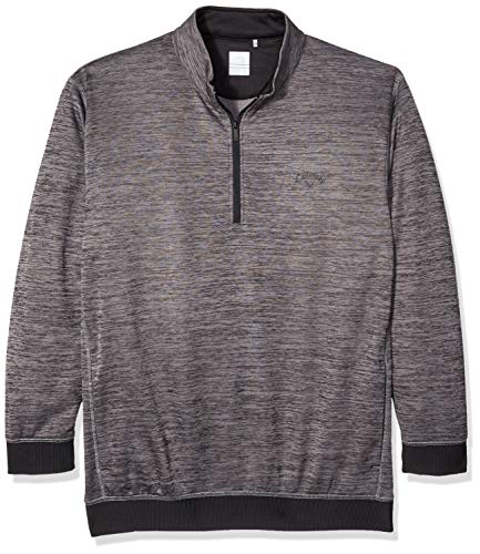 Callaway Herren Long Sleeve 1/2 Zip Water Repel Pullover Halbreißverschluss, Castlerock Heather, 2X-Large Big von Callaway