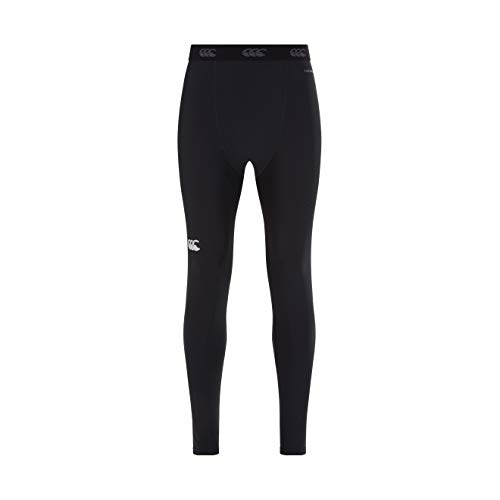 Canterbury Herren Thermoreg Baselayer Kompressionsleggings, Schwarz, 2XL von Canterbury