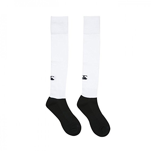 Canterbury Herren Plain Playing Socken, White, 49.5+ EU (XL) von Canterbury
