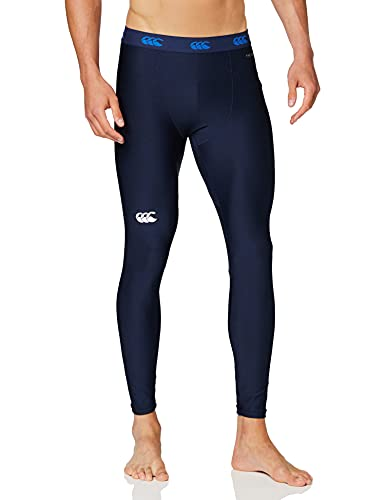 Canterbury Herren Thermoreg Baselayer Kompressionsleggings, Navy, XL von Canterbury