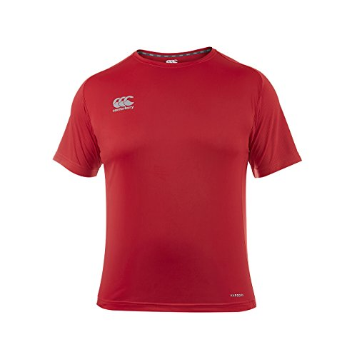 Canterbury Herren E546650-468-3XL Trainings-Shirt, Flaggen-Rot, 3XL von Canterbury