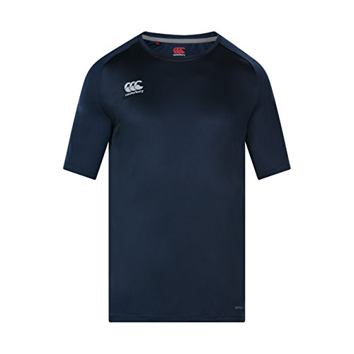 Canterbury Herren Vapodri Super Licht Trainings-Shirt, Navy, L von Canterbury