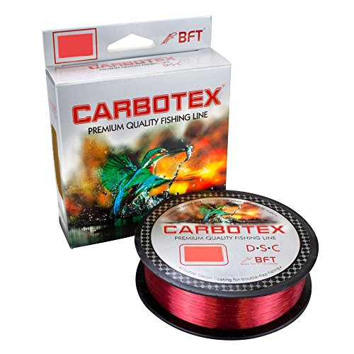 Carbotex DSC (Double Silicon Coating) rot 500m 0,255mm von Carbotex