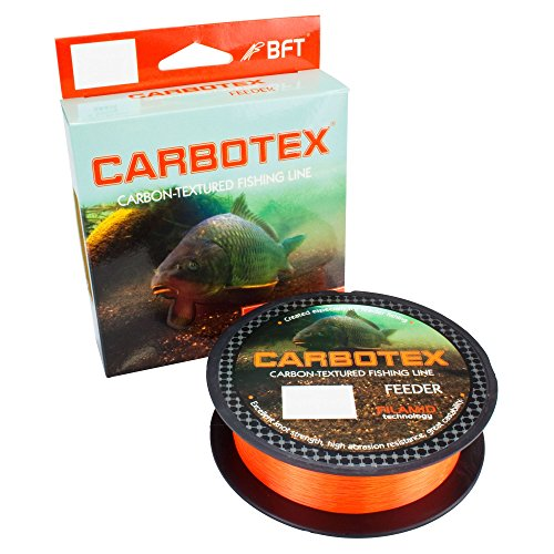 Carbotex Feeder Sinking Fluo orange 250m 0,215mm von Carbotex