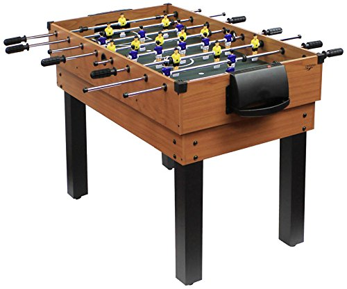 Carromco Multifunktionstischfussball Multigame Choice-XT 10-in-1 inklusive Billardkugeln, 2 Queues, 2 Kickerbälle, 06010 von Carromco
