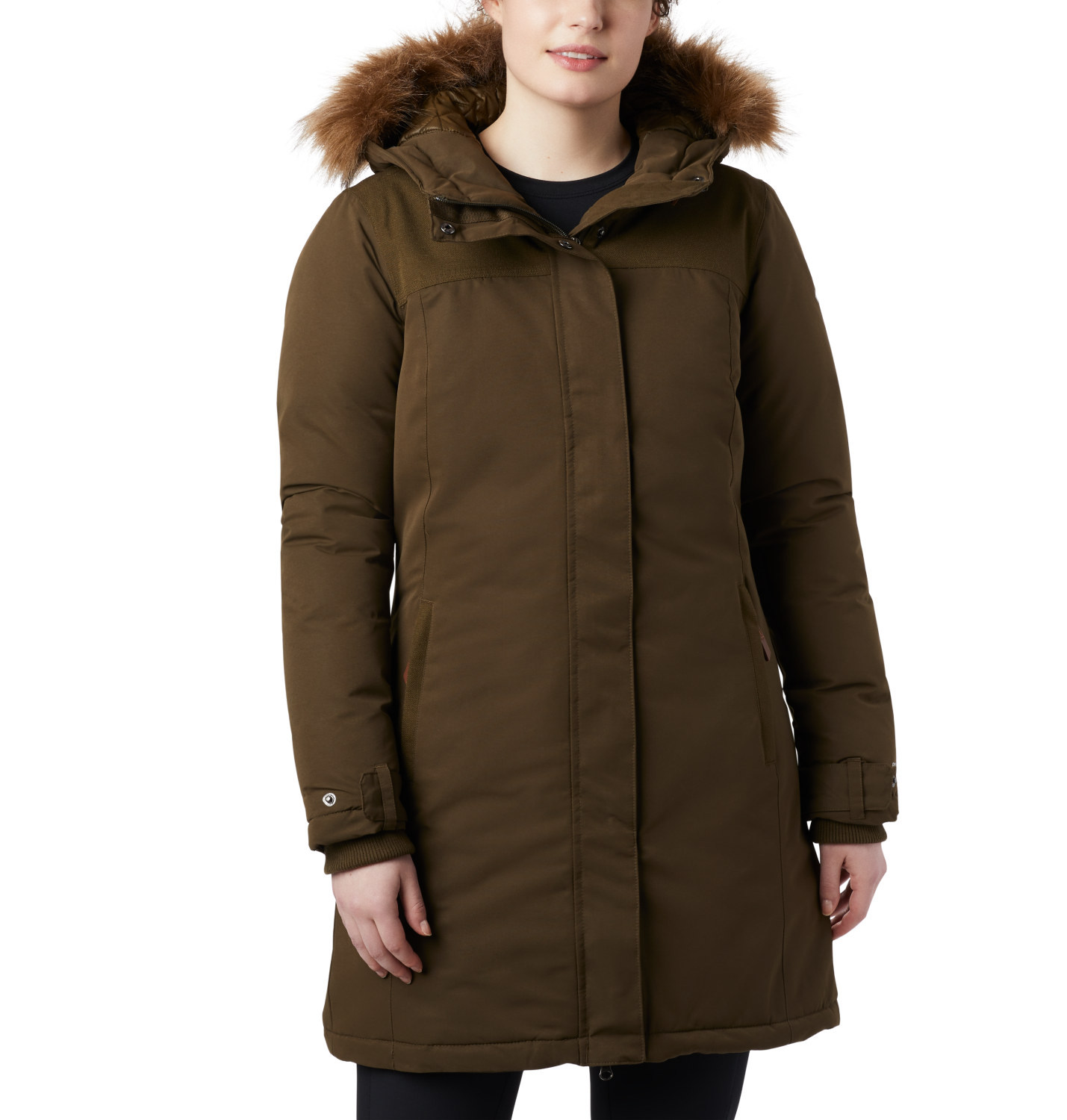 Columbia Lindores Jacket women Damen Winterjacke olive von Columbia