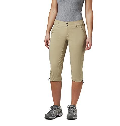 Columbia Sportswear Womens Saturday Trail II Plaid Shorts Fossil Plaid 4 x 12