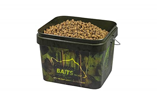 CommonBaits Tigernüsse Natural Mix 7,5Kg im 10L Camo Eimer/Tigers Gemischte Größen von CommonBaits