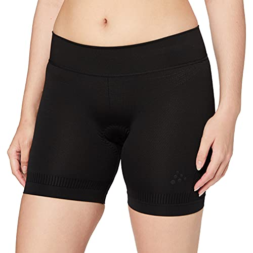 Craft Damen FUSEKNIT Bike Boxer W Baselayer, Black, XS von Craft