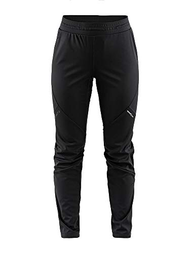 Craft Damen Glide Pants Sporthose, Black, S von Craft