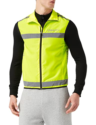 Craft Weste Visibility Vest Warnweste, neon, XL von Craft