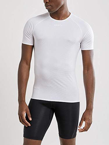 Craft Herren NANOWEIGHT SS M Baselayer, White, M von Craft