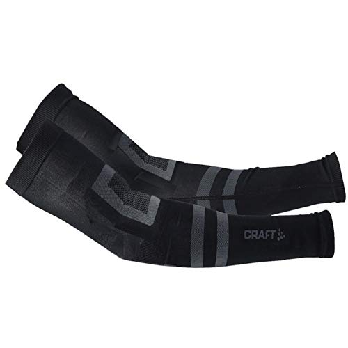 Craft Herren Seamless ARM Warmer 2.0 Ärmlinge, Black, XS/S von Craft