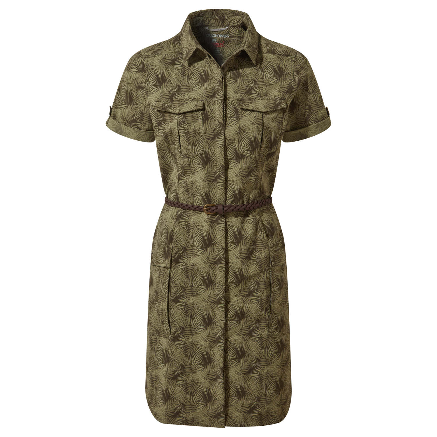 Craghoppers Savannah Dress Damen Kleid olive von Craghoppers