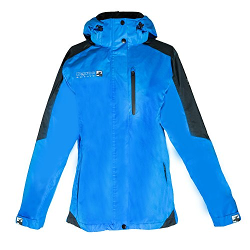DEPROC-Active Damen Outdoor Jacke und Regenjacke Walkworth, Blue/Black, 44 von DEPROC-Active