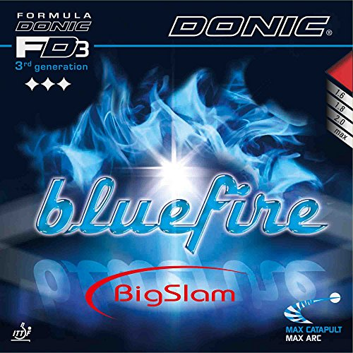DONIC Belag Bluefire Big Slam, rot, 1,6 mm von DONIC
