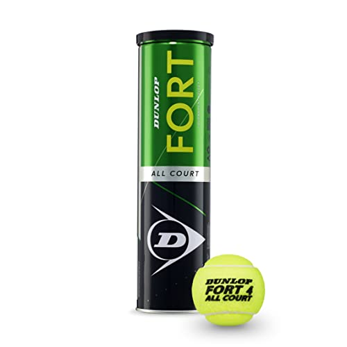 Dunlop Tennisball Fort All Court TS, gelb von Dunlop Sport
