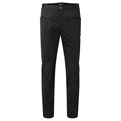 Dare 2b Herren Appended II Ilus Hybrid with D-Lab Softshell Front and Core Stretch to The Back Trouser Hose, Schwarz, 86,4 cm (34 Zoll) von Dare 2b