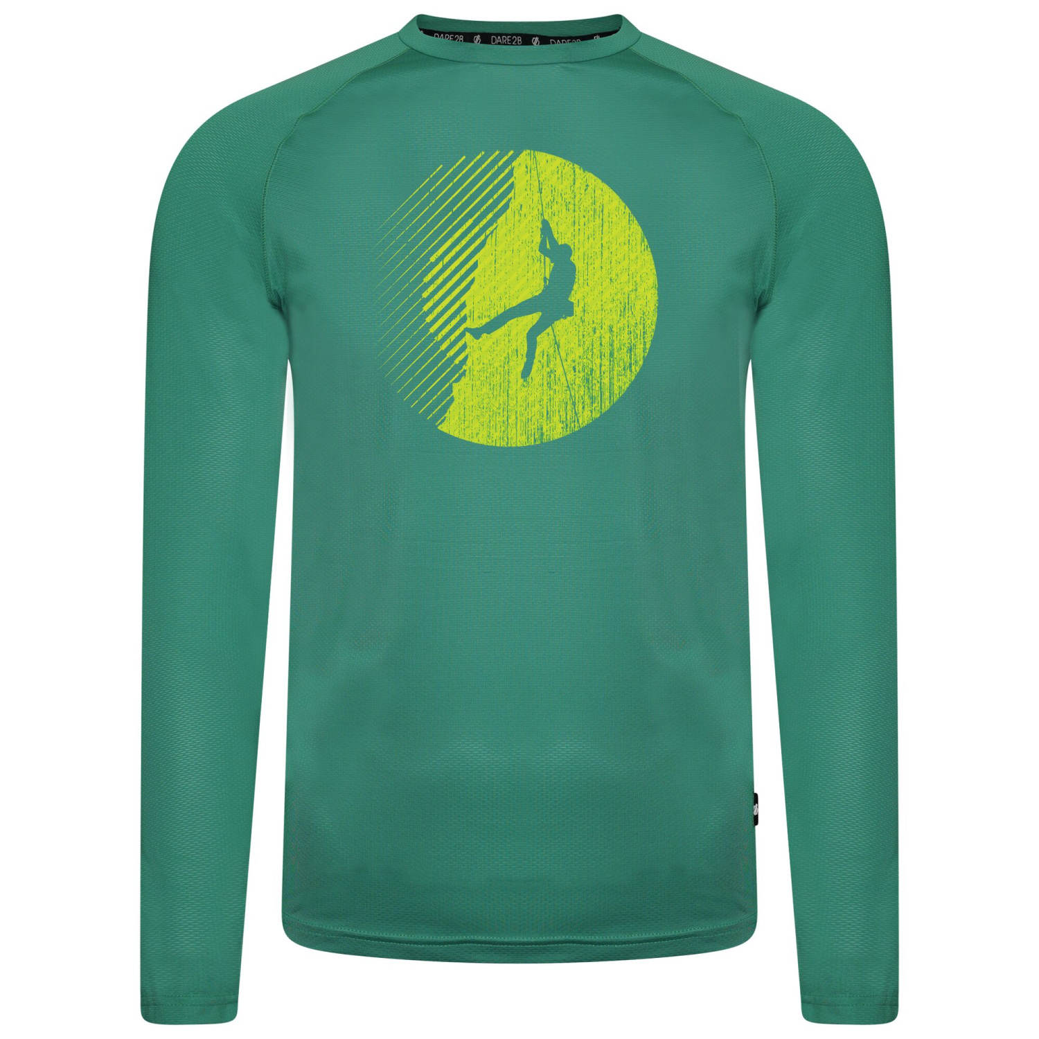 dare2b Righteous Long Sleeved Tee grün Herren von Dare2b