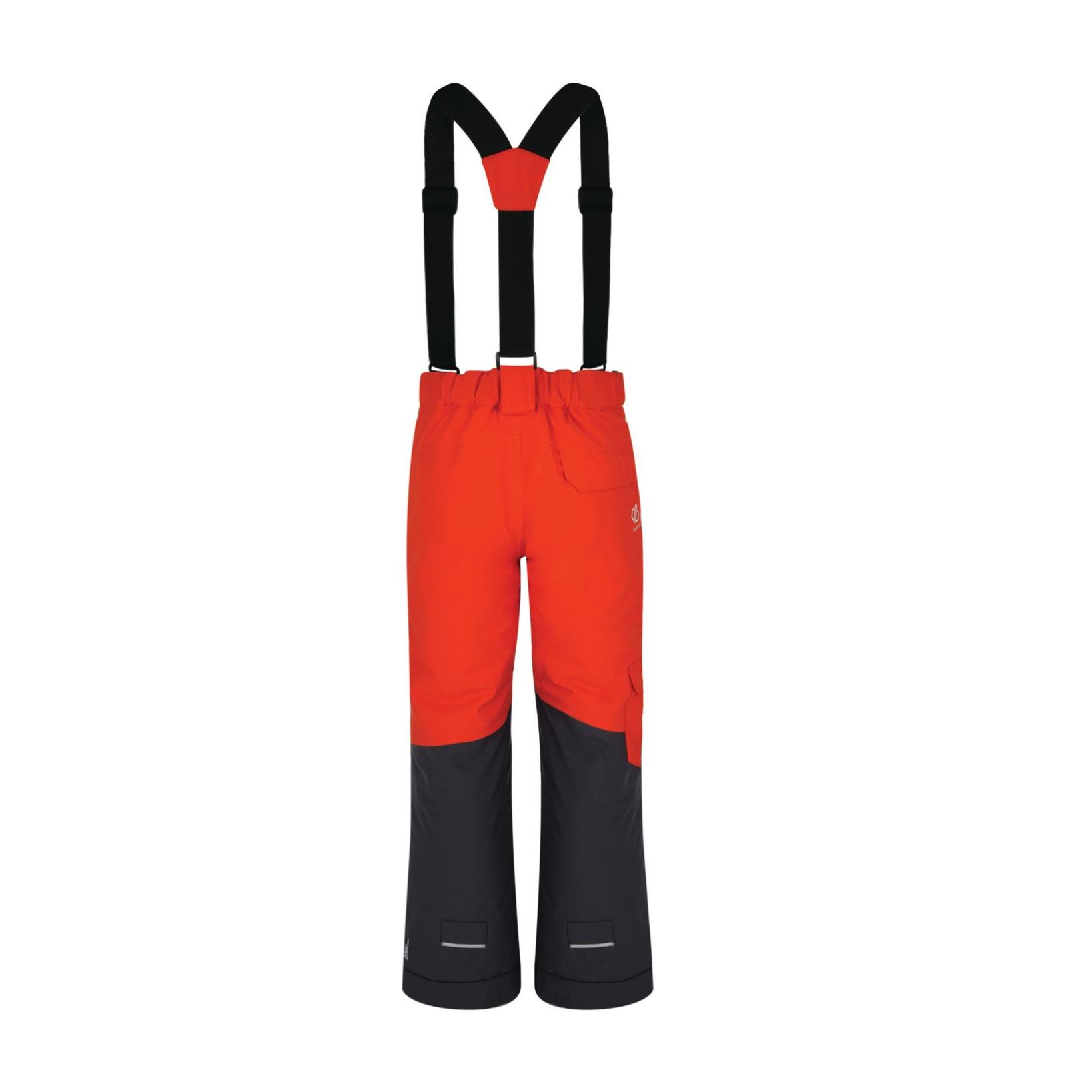 dare2b Timeout Pant Kinder Ski - und Snowboardhose orange-grau Gr. 116 Kinder von Dare2b