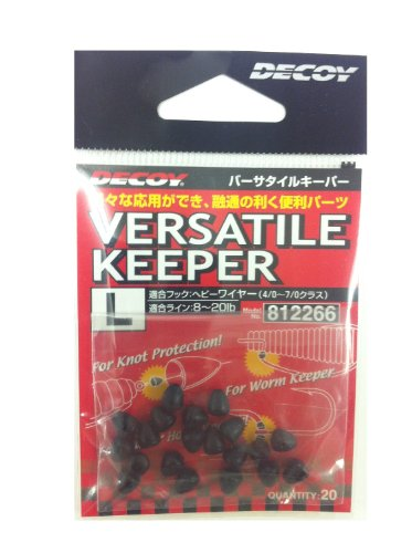 Decoy L-7 Versatile Keeper for Knot, Hook or Trailer Hook Size M (2259) von Decoy