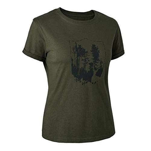 Deerhunter Lady T-Shirt with Shield von Deerhunter