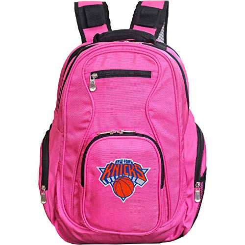 Denco NBA New York Knicks Voyager Laptop Backpack, 19-inches, Pink von Denco