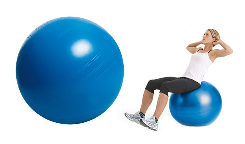 Deuser Blue Ball Gymnastikball von Deuser Sports